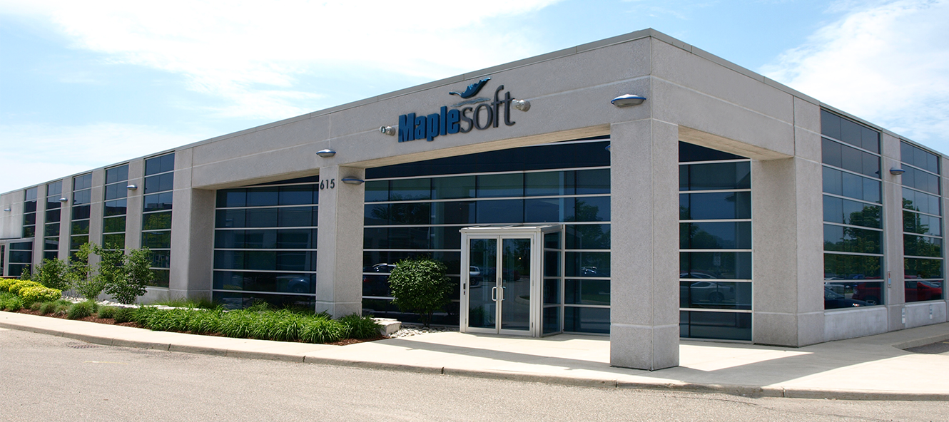Maplesoft office in Waterloo, Ontario, Canada