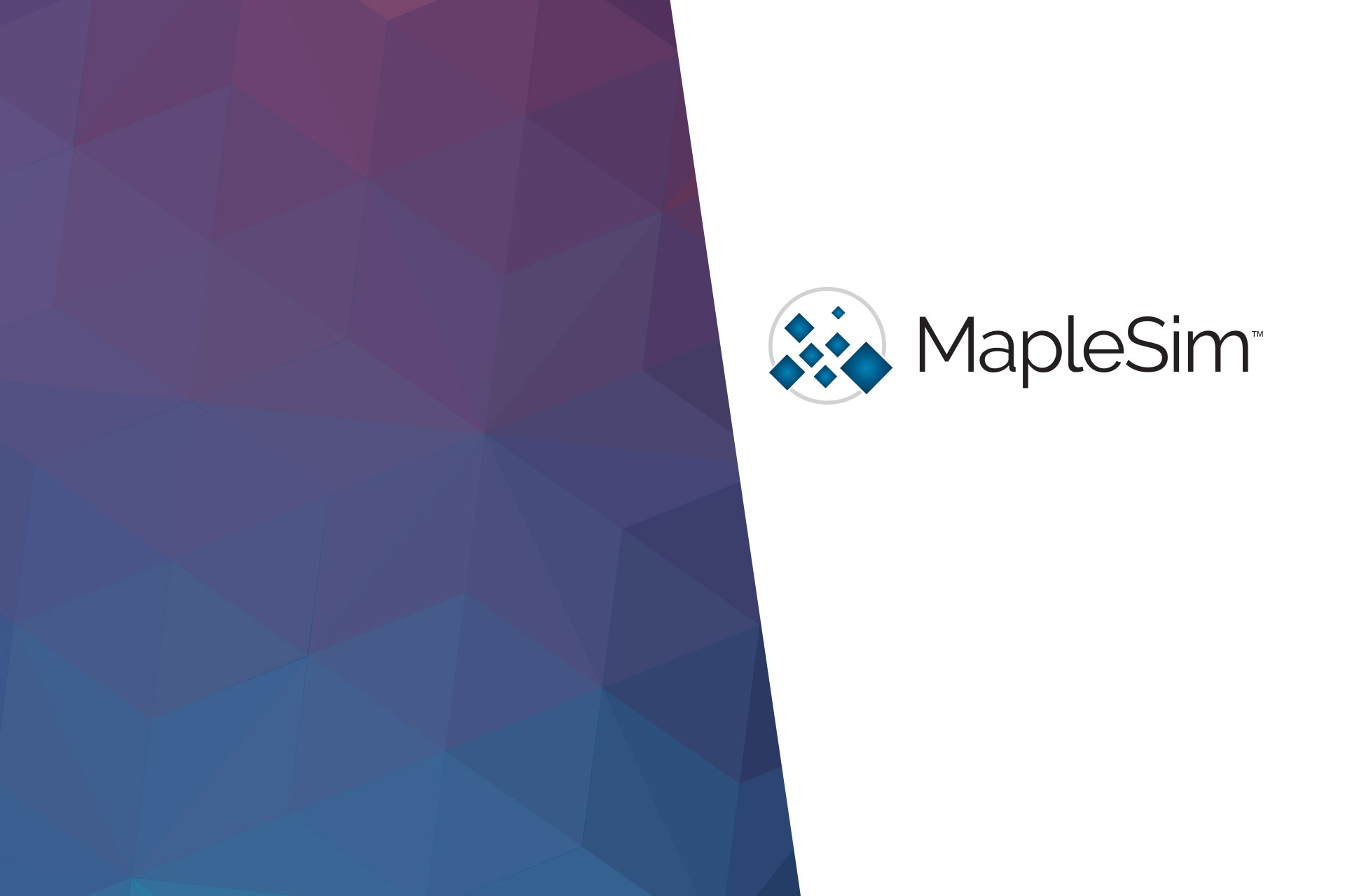 MapleSim from Maplesoft